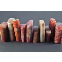 篆刻用 印材寿山石になります、非常に扱いやすく多種類な紋様が特徴になります。寿山石は艶がやや上がり難...