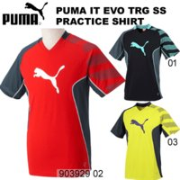 individual training evoシリーズ半袖プラシャツ  ●プーマ(PUMA) ●サッ...