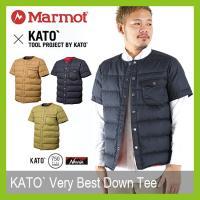 Marmot マーモット カトーベリーベストダウンティー KATO` ダウンジャケット 半袖ダウン ...