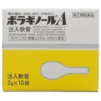 【指定第2類医薬品】ボラギノールA 注入軟膏 2GX10個入