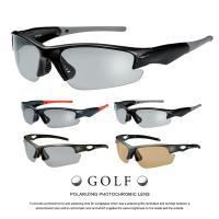 【偏光調光サングラス】ハイスペック ゴルフ サングラス [ 偏光サングラス +  調光サングラス ] スポーツサングラス UVカット メンズ レディース