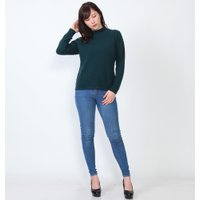 カシミヤ ハイネックセーター カシミヤ100% ニット、セーター 長袖 レディースファッション