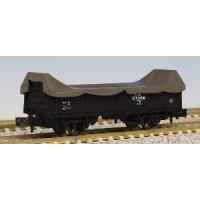国鉄時代に活躍した小形の貨車。 走行装置は2段リンク式走り装置を備えており、最高速度75km/hでの...
