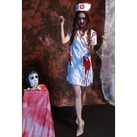 「メール便で送料無料」ハロウィン コスチューム コスプレ衣装 ホラー  血付け 医者さん 看護婦 看護士 ナース レディース パーティー服