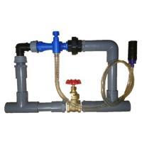 ベンチュリー式 液肥混入器 ブルーインジェクター(流量計付)です。無動力! 簡単操作! 混入倍率可変...