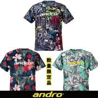 ●商品名:アンドロ フルデザインシャツ 男女兼用  ●カラー: 302011:I-ローズ柄 3020...