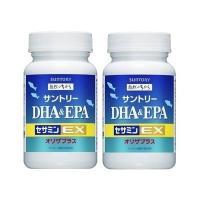 サントリー サプリメント DHA & EPA+セサミンEX オリザプラス 240粒(約60日分)2本セット