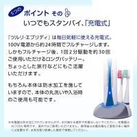 電動歯ブラシ 歯ブラシ 電動 音波 充電式 本体 音波 替えブラシ3本 ブラシ 高性能  口臭 虫歯 充電|supereagle|07