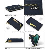 長財布 レディース ポリキャンバス ラウンドファスナー/anello アネロ ブランド 正規品 AT-B0199