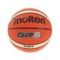モルテン(molten) バスケットボール 5号球 (小学校用) ジュニア GR5 BGR5-OI 自主練 (キッズ)