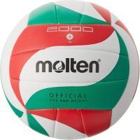 モルテン(molten) バレーボール 4号球 (中学校用・家庭婦人用) ミシン縫い V4M2000 自主練 (レディース)