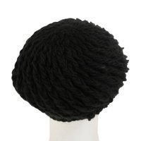 HUITIEME ゼビオ限定 ニットベレー帽 HU16FKH898002BLK (Lady's)