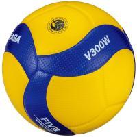 ミカサ(MIKASA) バレーボール 5号球 (一般用・大学用・高校用) 国際公認球 検定球 V300W 自主練 練習 (メンズ、レディース)