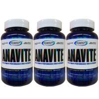 アナバイト 3個セット(アスリート用マルチビタミン&ミネラル)180粒