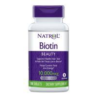 ビオチン 10000mcg 100粒 ビタミンH Natrol [送料無料]