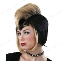 【取寄品】 パンクモヒカン(ゴールド) ハロウィン 衣装 プチ仮装 変装グッズ コスプレ パーティーグッズ かつら カツラ ウィッグ 髪の毛 かぶりも