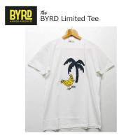BYRDのアイコンキャラMr.ByrdのプリントTee!!