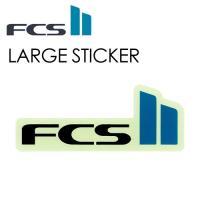 FCS2,エフシーエス2,ステッカー,シールタイプ●FCSII LARGE STICKER