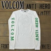 VOLCOM/ボルコム  ANTI HERO/アンタイヒーロー コラボ!! Tシャツ/TEE ANT...