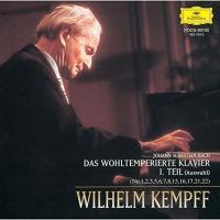 CD/ヴィルヘルム・ケンプ/J.S.バッハ:平均律クラヴィーア曲集(抜粋)第1集 (限定盤)