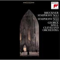 CD/ジョージ・セル/ブルックナー:交響曲第3番&第8番