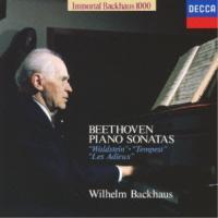 CD/ヴィルヘルム・バックハウス/ベートーヴェン:3大ピアノ・ソナタ Vol.2(ワルトシュタイン)(テンペスト)(告別) (限定盤)