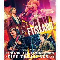 BD/FTISLAND/JAPAN LIVE TOUR 2019 -FIVE TREASURES- at WORLD HALL(Blu-ray)
