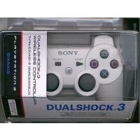 中古PS3ハード ワイヤレスコントローラDUALSHOCK3 セラミック・ホワイト