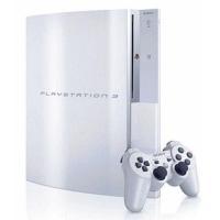 中古PS3ハード プレイステーション3本体 セラミックホワイト(HDD 80GB)