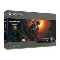 新品Xbox Oneハード XboxOne X本体 シャドウオブザトゥームレイダー同梱版