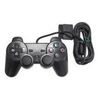中古PS2ハード アナログコントローラ (DUAL SHOCK2)ブラック(状態:本体状態難)