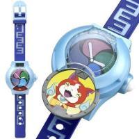 商品解説■妖怪ウォッチUプロトタイプ型のデジタル時計が登場! レプリカメダル2枚付属で本体に入れるこ...