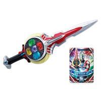 商品解説■ウルトラマンオーブ(オーブオリジン)の使う剣。 リングを回転させることで盤面にアイコンが浮...