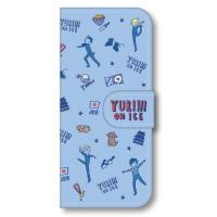 商品解説■「ユーリ!!! on ICE」の手帳型スマホケースが発売! フルカラーでカバー全体にデザイ...