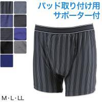 尿漏れ ボクサーパンツ 前あき M~LL (尿漏れパンツ 男性用 メンズ 軽失禁 尿もれ)