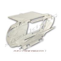 PSP-2000/PSP-3000用のクリアハードケース ケースを装着したまま全てのスロットが使用で...