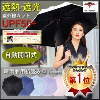 ひんやりクール! 遮光 100 & UV 80%カット!  軽量 折畳傘 折りたたみ傘 折畳...