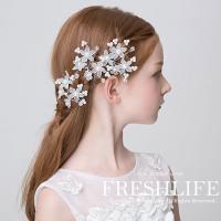 商品コード:fl2168-ps16 商品特徴: 上品な女の子にお勧めのお花のUピン。 1つでもパッと...