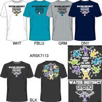 17S-ARSK7113-Tシャツ,吸汗速乾,UVカット,中国製,エステルドライニット(ポリエステル...