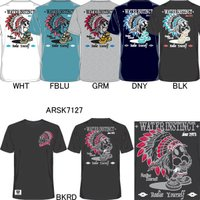 17S-ARSK7127-Tシャツ,UVカット,中国製,バックメッシュ(ポリエステル100%),ar...