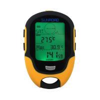 スイス製高精度センサーを内蔵 高度計、気圧計、温度計、湿度計、コンパス機能など 24時間分の高度の上...