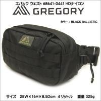 グレゴリー GREGORY エバック ウェストHDナイロン 68641-0440 ウエストパック ト...