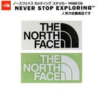 定番商品 ノースフェイス THE NORTH FACE NN88106 カッティング ステッカー 文...
