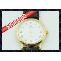 【商品名】ΩOMEGA(オメガ)/腕時計/レディース/デビル/deville/K18×革ベルト/クォ...