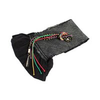 ・振袖用の鮮やかな色彩の帯揚げと、同系色に美しい  パーツと金属糸を織り込んだ、とても豪華で贅沢な ...