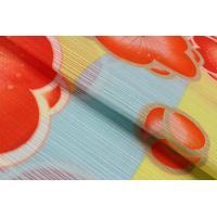 浴衣 岡重 ブランド 絽 お仕立て上がり ゆかた 縞に梅 日本製 7OY-9