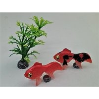 金魚 金魚3匹セット+水草セット(金魚小2匹・水草)が送料無料で1,080円(代引き不可)|syozan|03