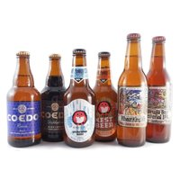 国産クラフトビールの飲み比べセットです。  国内外に多数の受賞で有名なコエドビール(埼玉県) ビアフ...