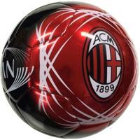 ヨーロッパクラブチーム[ACミラン]ロゴ入りのサッカーボール 光沢あるので高級感があります。 カラー...