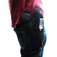 ■サイズ:10×3×H18cm ※グロックなどの銃口が大きめのモデルガンは上のマジックテープが留まら...